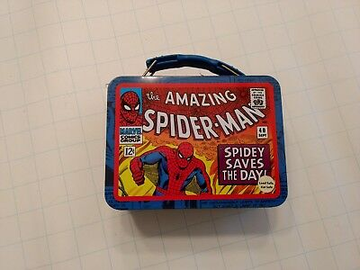 Vintage Marvel Amazing Spiderman Miniature Lunchbox