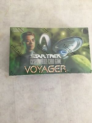 STAR TREK VOYAGER CCG SEALED BOOSTER BOX - Decipher!
