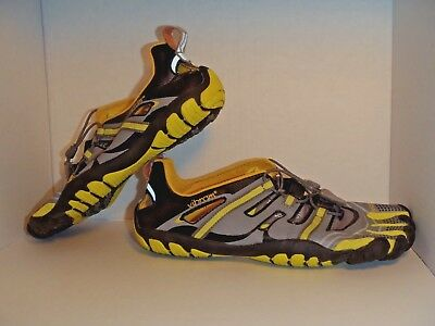 cb29c793b7 ... switzerland vibram fivefingers barefoot running mens shoes black gray  yellow size 42 9 1 2 da54b