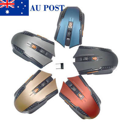 2.4GHZ Wireless Game Mouse USB Optical Cordless Mice For Windows/PC/Computer
