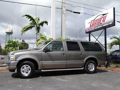 2002 Ford Excursion Ford Excursion Limited 2002 Low Miles 2002 Ford Excursion LIMITED FLORIDA NO RUST! WELL KEPT! SUPER NICE! DONT MISS!!