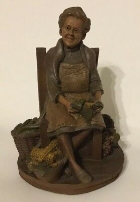 "1986 Artist Tom Clark Old Woman Gnome  ""LEAH"""