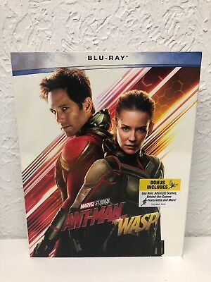 Ant-Man and the Wasp NEW 2018, Blu-ray only, no digital included. Please read
