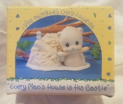 RARE Vintage 1992 precious moments Figurine BC921 Still in Original Box