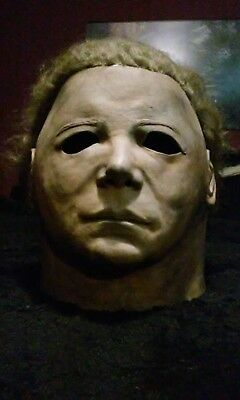 Halloween Michael Myers Warlock mask by Cemetery Gate Production