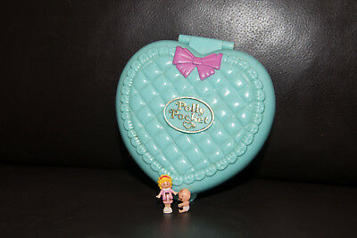 Vintage Polly Pocket 1994 Babytime Fun - with 2 dolls