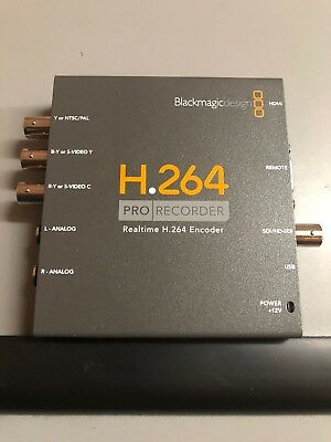 Blackmagic Design H.264 PRO Recorder (New - Open Box)