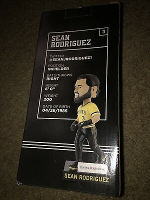 PITTSBURGH PIRATES SEAN RODRIGUEZ BOBBLE HEAD Brand New Baseball