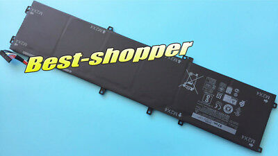 USA ship Genuine 97Wh 6GTPY 5XJ28 battery for Dell XPS 15 9560 9550 i7-7700HQ