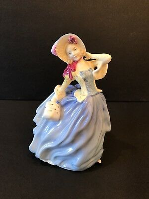 Royal Doulton Figure 'Autumn Breezes' Special Edition Signed by Michael Doulton