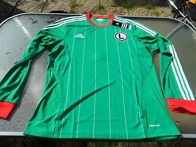 Legia Warsaw Long Sleeves Player Issue Away Shirt Large Mens Brand New Tagged