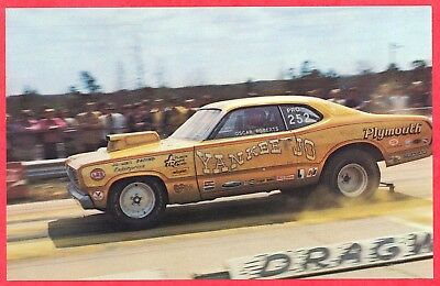 1970's Plymouth Duster Dragster - Walt Ballard's  Pro Stock  - New old stock