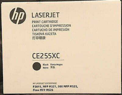Brand New Genuine HP CE255XC Black Ink Toner Cartridge! Free Shipping!