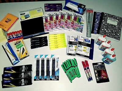 School, Office or Teacher Supplies, Lot Over $100 Value + FREE SHIPPING! New