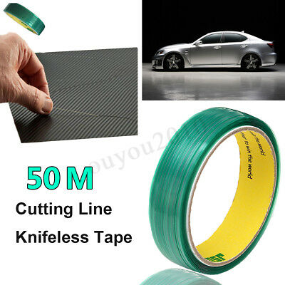 50m Folien Knifeless Tape Finish Line schneiden ohne Messer WrapCut mit Squeegee
