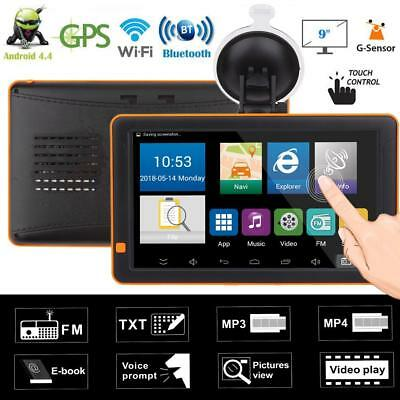 9inch Bluetooth WiFi LED Touch Screen FM Night Vision Android Car GPS Navigator