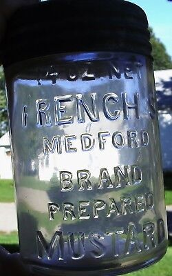 FRENCHS MEDFORD MUSTARD with 2 piece lid.