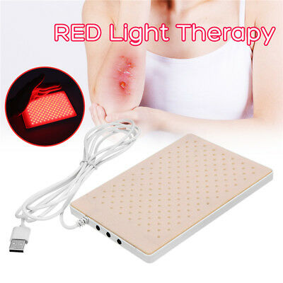 165Red Light Infrared LED Therapy Pad LEC Deep Penetration Pain Relief Safe Heal