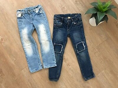 Boys Rock Your Kid Jeans Size 5