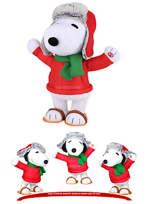 gemmy 13 animated side stepper snoopy dances to the song christmas is coming - Snoopy Christmas Song
