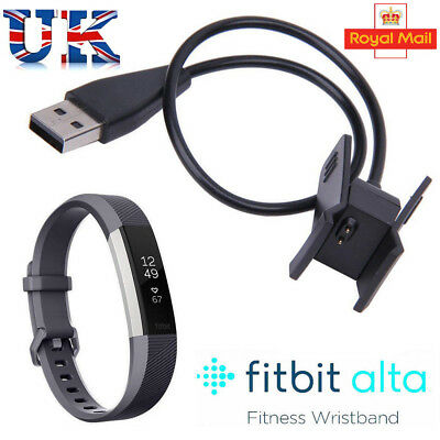 USB Charging Cable Charger Lead for Fitbit Alta Wireless Activity Wristband NEW