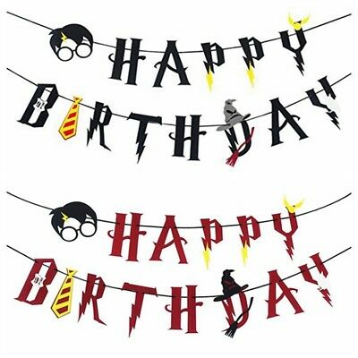 Harry Potter Bunting Banner Party Supplies Decoration Premium Quality AU Stock