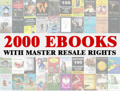 2000 eBooks Package Collection   Pdf Format + FEDBACK   Master Resell Rights