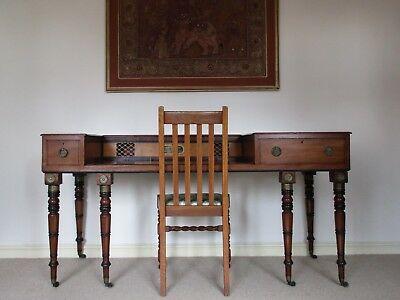 Antique Music Writing Desk. Victorian Conversion from a Regency Pianoforte