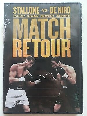 Match retour (Grudge Match) DVD NEUF SOUS BLISTER Sylvester Stallone