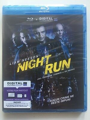 Night run BLU RAY NEUF SOUS BLISTER Liam Neeson - Ed Harris - Nick Nolte