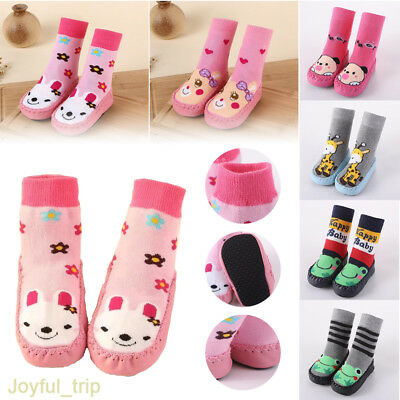Baby Kids Soft Non-Slip Boots Babby Toddler Socks Shoes Child Indoor Sock Shoes