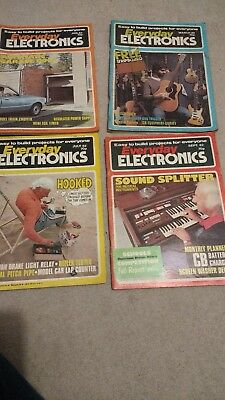 Everyday electronics Magazine 1982 82 Jan, march july & september