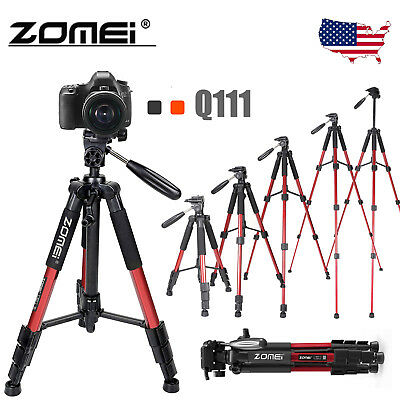 Zomei Q111 Professional Camera Tripod & Pan Head Heavy Duty Aluminium Portable