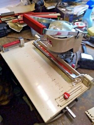 Lihit Auto Punch Model 2001 Aa Six Bookbinders Paper Drill Used Condition