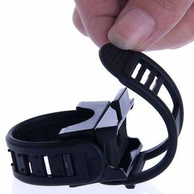360° Cycling Bicycle Bike Mount Holder for LED Flashlight Torch Clip Clamp LR