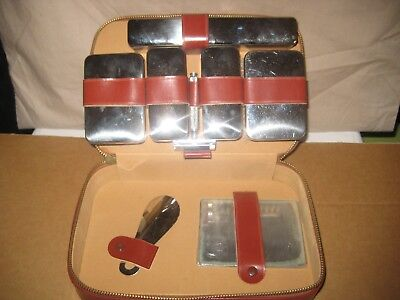 Vintage Men's Vanity Travel Case