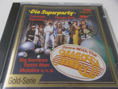 44480 - Dance With The Saragossa Band - Die Superparty - 1987 Cd Album