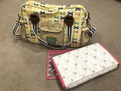 Yummy Mummy Baby Changing Bag With Change pad- Very Good Condition