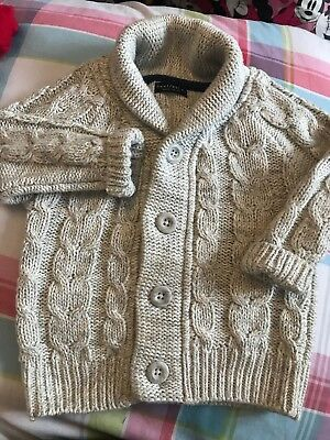 Lovely Next Knit Cardigan 9-12 Months