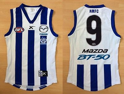 Andrew Swallow Match Worn North Melbourne Guernsey Jumper Player Issue Kangaroos