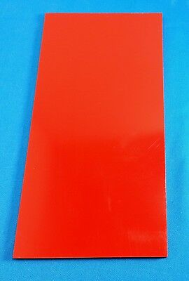 G10 RED 1/16 .062 x 6 x 12 (1) KNIFE / GUN HANDLE SPACER / LINER MATERIAL