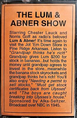 The Lum & Abner Show #1319 by Radio Spirits Audio Cassette