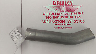 Faa-Pma Left Hand Tailpipe For Cessna 150 Airplane - 0450338-67