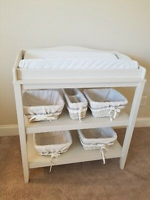 Pottery Barn Emerson Changing Table & Accessories