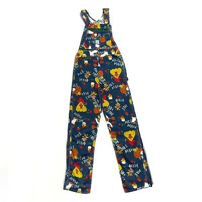 Vintage Hee Haw Overalls By Liberty 1970s Bib Carpenter Denim Jeans Adult 32x34