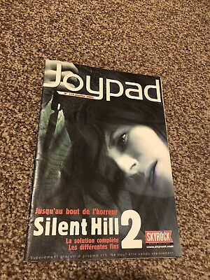 Silent Hill 2 Joypad Guide French