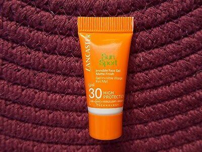Lancaster Sun Sport SPF30 High Protection,3ml,Invisible Face Gel Matte finish