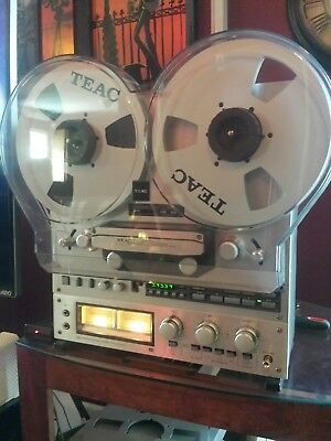 Teac x-1000r Reel To Reel Tape Player Recorder Completely Serviced Many Extras!!