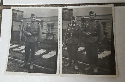 Lot de deux photos allemands ww2