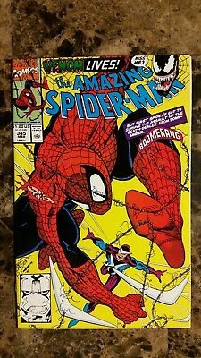 The Amazing Spider-Man 345 Carnage Symbiote Infects Cletus Kasady